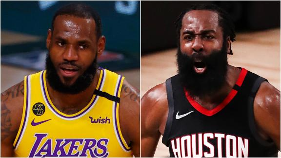 Rockets turn attention to rested Lakers in Game 1 - ABC13 ...