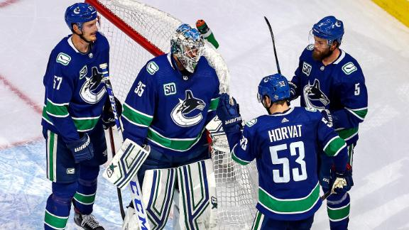 Canucks shut out Golden Knights to force Game 7