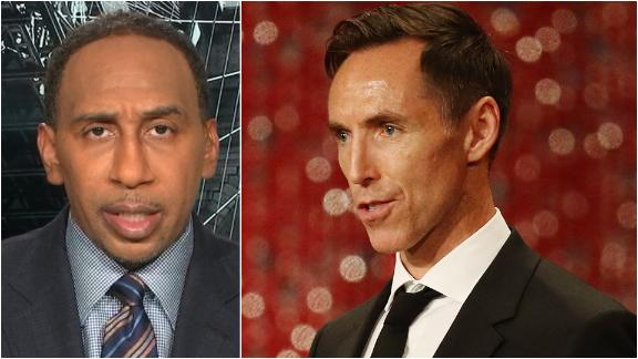 Stephen A. clarifies his comments critical of Nets' hiring of Nash