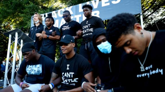How college football players are using their voice to bring change