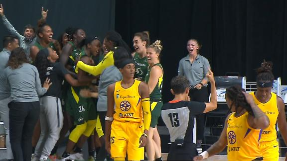Jewell Loyd's buzzer-beater buries Sparks for the win