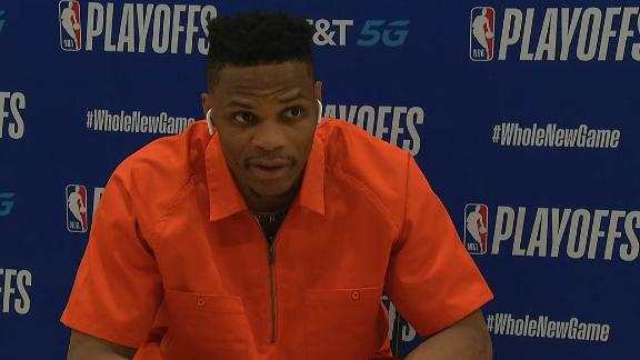 Westbrook feels like he's just running around