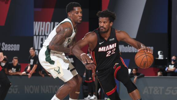 Giannis-less Bucks eliminated by Heat in Game 5