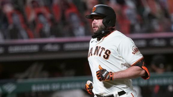 Giants edge Mariners on Ruf's solo homer