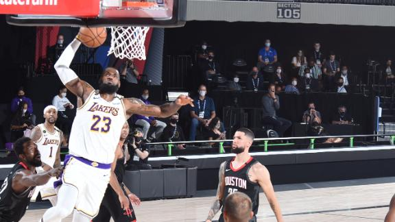 LeBron's 29 leads Lakers to beatdown of Rockets
