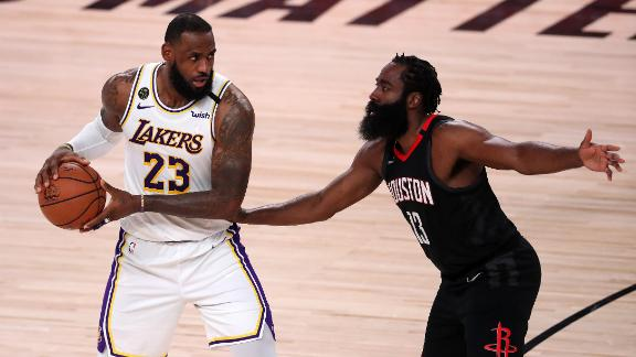 Lakers thrash Rockets in drama-filled Game 5, advance to WCF