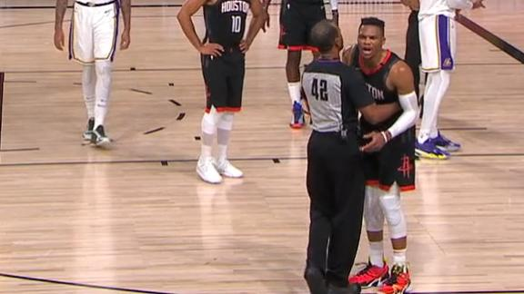 Rondo's brother jaws at Westbrook, asked to leave arena