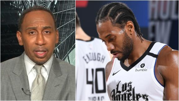 Stephen A. holding Kawhi accountable for Clippers' loss