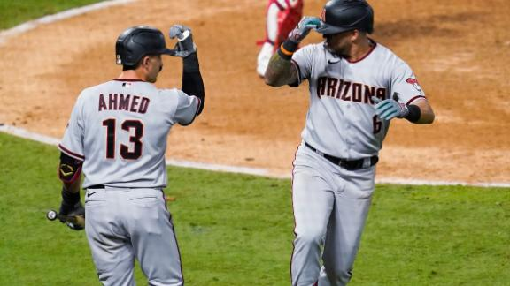 D-backs edge Angels