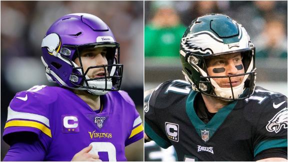 Who's less likely to turn the season around: Wentz or Cousins?