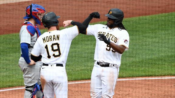 Pirates' HR barrage fuels series win vs. Cubs