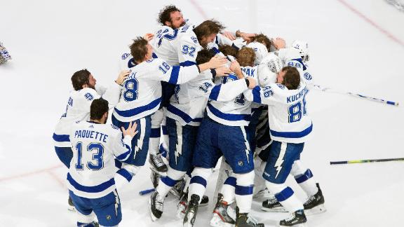 Lightning defeat Stars to win Stanley Cup