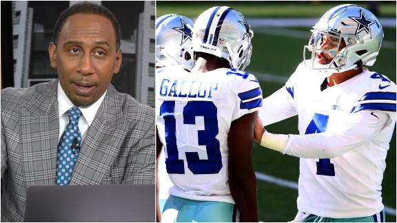 The Cowboys' biggest problem, according to Stephen A.