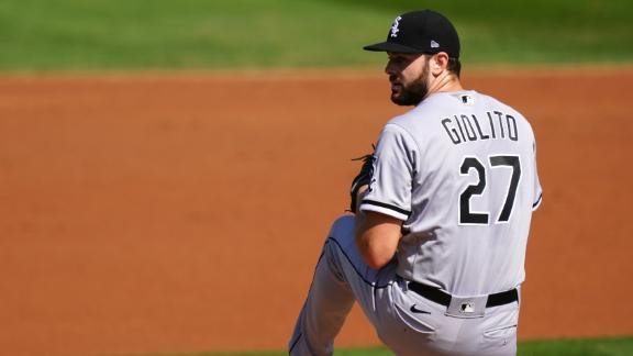 Giolito flirts with perfect game, strikes out 8