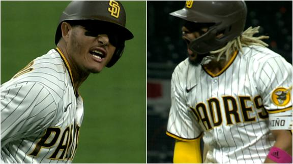 Tatis, Machado go back-to-back to tie the game