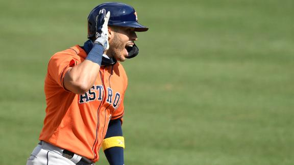 Correa notches two homers as Astros win Game 1 of ALDS