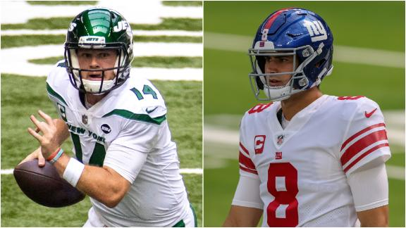Will Jets, Giants move on from Darnold, Jones in NFL draft?