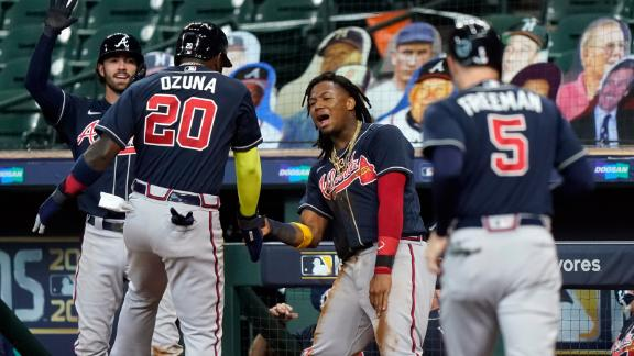 Braves' offense punches NLCS ticket
