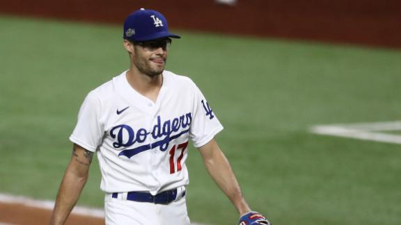 Dodgers prevail in nail-biting Game 2 vs. Padres