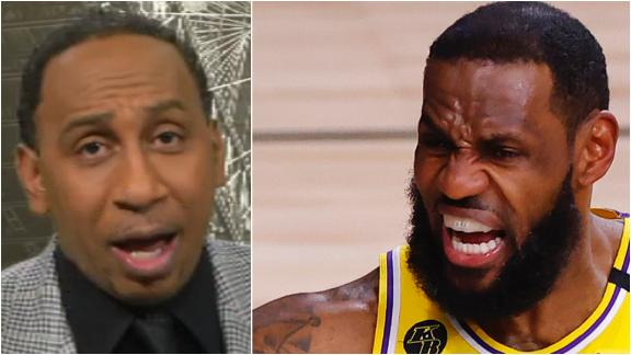 Stephen A.: LeBron can't be GOAT playing in NBA's softest era