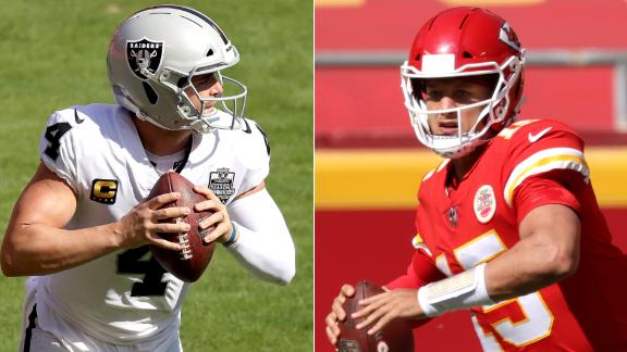Carr, Raiders win back-and-forth battle with Chiefs