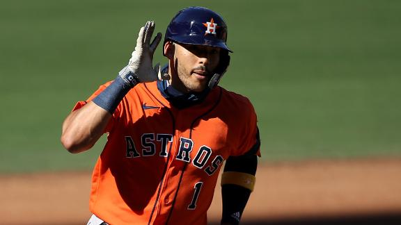 Correa's homer gets Astros on the board