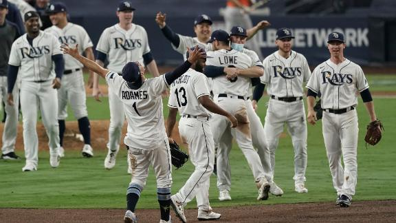 Rays advance to World Series for first time since 2008