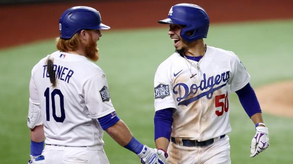 Dodgers' offense comes through in Game 1 win