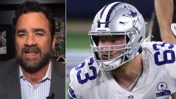 Saturday: Cowboys' offensive line 'like a subway turnstile'