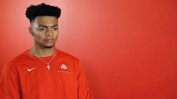 Justin Fields New Diet Has Him Leaner And Faster ESPN Video ESPN