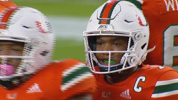 King's arm shines in Miami's win over Virginia