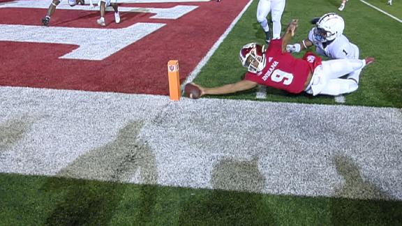 Indiana upsets Penn State as Penix scores 2-point conversion by inches