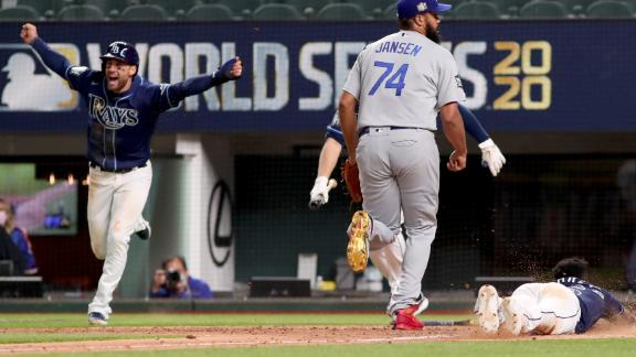 Rays come out victorious in Game 4 nail-biter against Dodgers
