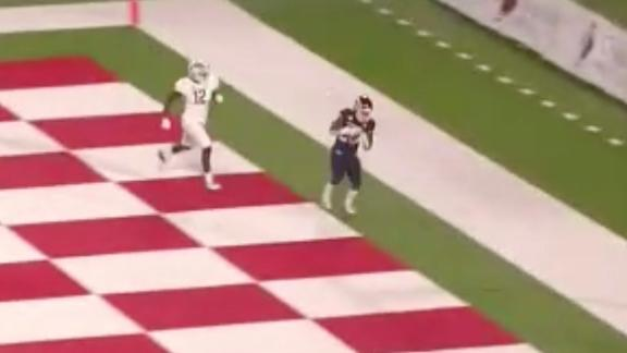 Fresno State strikes first with a Rivers TD reception