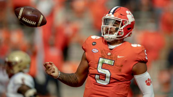 Lawrence-less Clemson rallies past BC to stay undefeated