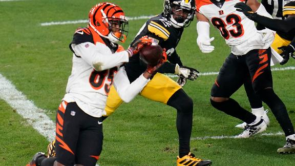 Burrow, Bengals convert on 4th down for TD