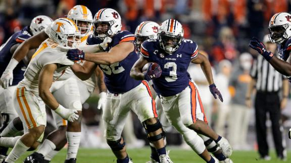 Auburn comes out on top in battle against Tennessee