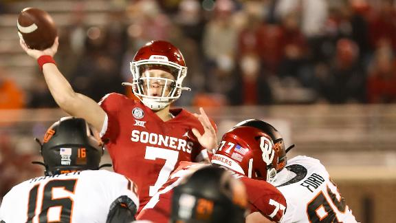Rattler leads Oklahoma to victory over rival Oklahoma State