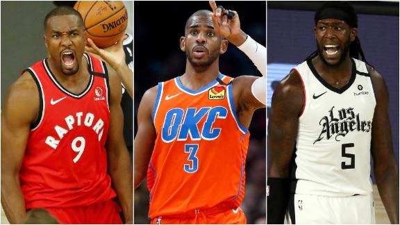 The most interesting NBA players on new teams