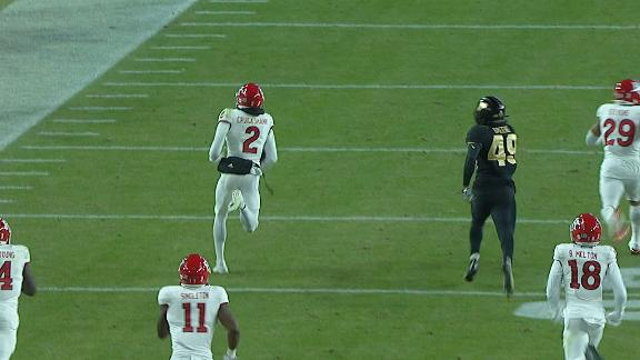 Rutgers returns kick 100 yards for TD