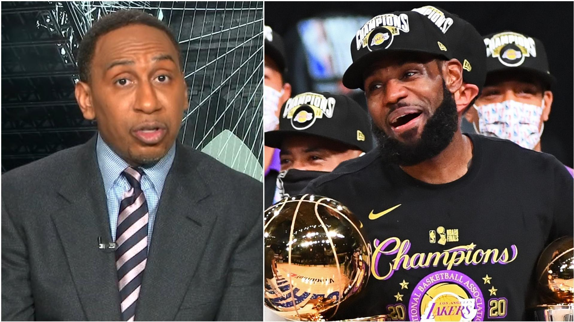 How much pressure is on the Lakers to repeat? Stephen A. weighs in