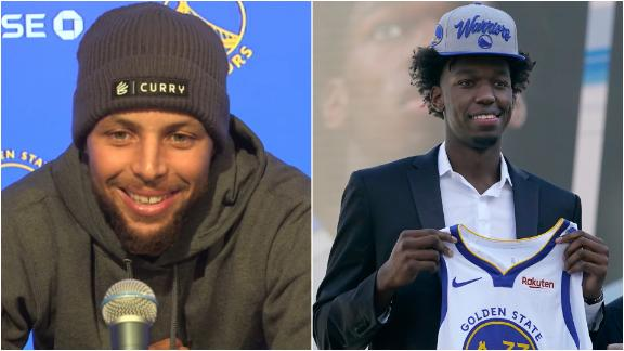 Steph Curry breaks down how James Wiseman can help Warriors