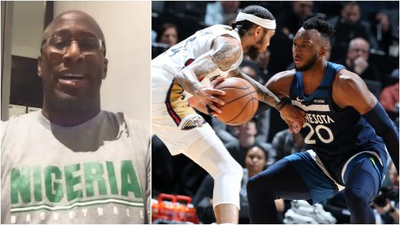 Mike Brown targeting a medal with Nigerian Olympic team