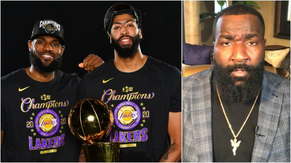 With AD and LeBron signed up, how many more rings will the Lakers get?