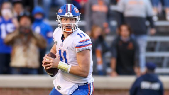Trask throws four TDs as Florida clinches spot in SEC title game