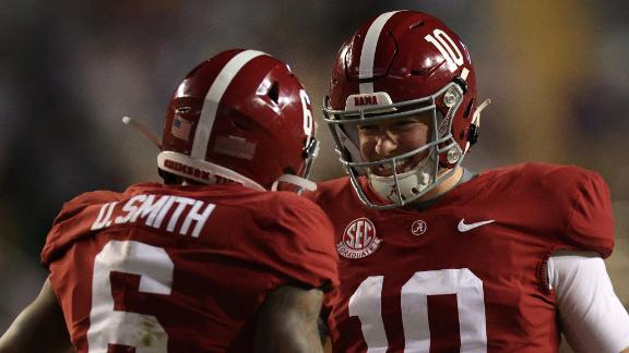 Jones, Smith have huge night for Alabama vs. LSU