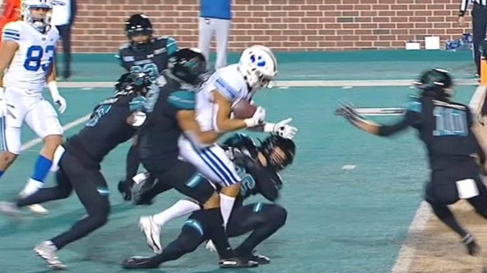 Coastal Carolina stops BYU on final play for the win