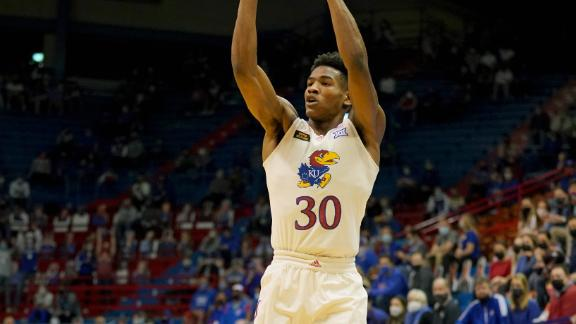Kansas improves to 6-1 with rout of Omaha