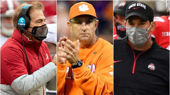 How Alabama, Clemson and Ohio State operate under different rules