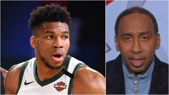 Stephen A.: Giannis, Bucks are championship contenders